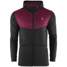 Outhorn Sporty Hoodie, Fleecejakke, Herre, Red Melange