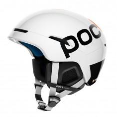 POC Obex Backcountry Spin, Skihjelm, Hygrogen White/Orange