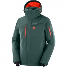 Salomon Brilliant JKT M, skijakke, Herre, Green