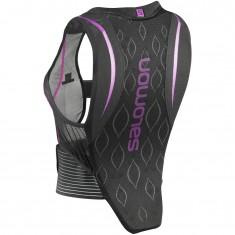 Salomon Flexcell, Ryggplate, Dame, Black/Purple