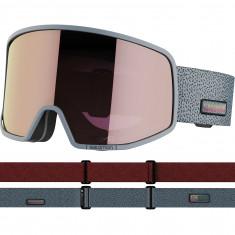 Salomon LO FI Sigma, Skibriller, Grey/Pink