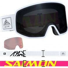 Salomon LO FI, Skibriller, Black & White