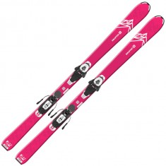 Salomon QST LUX Jr M + L6 GW, Pink/White