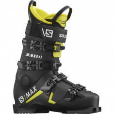 Salomon S/MAX 110 GW, Skistøvle, Herre, Black/Acid Green