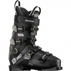Salomon S/PRO 100, Skistøvler, Herre, Black/Belluga/Red