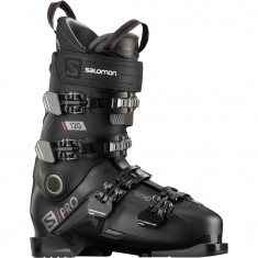 Salomon S/PRO 120, Skistøvler, Herre, Black/Beluga/Red