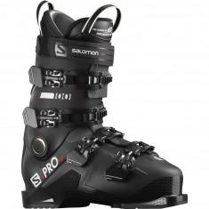 Salomon S/Pro HV 100, Skistøvler, Herre, Black/Belluga/Red