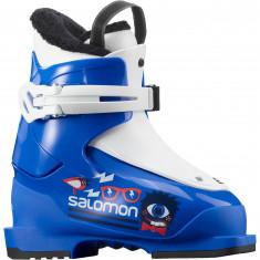 Salomon T1, Skistøvler, Barn, Race Blue