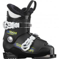 Salomon Team T2, Skistøvler, Junior, Black/White