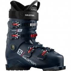 Salomon X Access 90 Skistøvler, Herre, Petrol Blue/Red