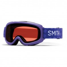 Smith Gambler Air jr Skibrille, Ultraviolet Brush Dots