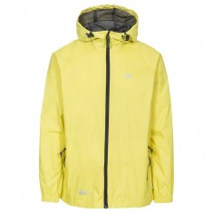 Trespass Qikpac Regnjakke, Unisex, Yellow