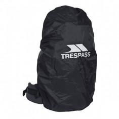 Trespass Rain, Regncover til Ryggsekk, Black