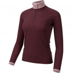 Ulvang 50Fitty 2.0 Turtle Neck, Dame, Fig/Sweet Pink