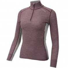 Ulvang Rav 100% Turtle Neck, Dame, Fig/Grey Melange