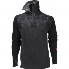 Ulvang Rav Kiby Sweater, Herre, Black/Charcoal Melange