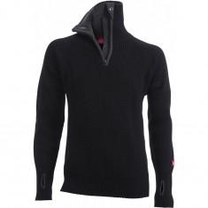 Ulvang Rav Sweater w/Zip, Herre, Black