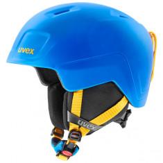 Uvex Heyya Pro, Skihjelm, Junior, Blue/Yellow