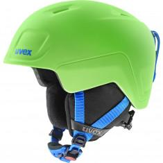 Uvex Heyya Pro, Skihjelm, Junior, Green/Blue