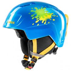 Uvex Heyya, Skihjelm, Junior, Blue Splash