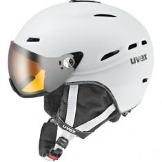Uvex hlmt 200 Skihjelm med Visir, White
