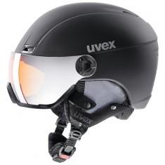 Uvex hlmt 400 Visor, Black Mat