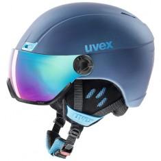 Uvex hlmt 400 Visor, Navy Blue Mat