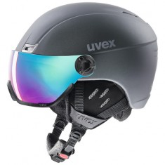 Uvex hlmt 400 Visor, Titanium Mat
