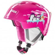 Uvex Manic, Skihjelm, Pink Penguin